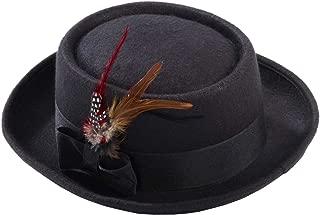 Forum Men's Novelty Deluxe Pork Pie Hat