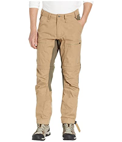Fjallraven Abisko Lite Trekking Zip Off Trousers (Sand/Tarmac) Men