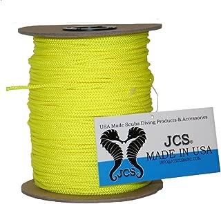 JCS No.24 Braided Polyester Dacron Reel Line, 1 LB Spool, 656 Feet (200 Meters), 3 Popular Colors