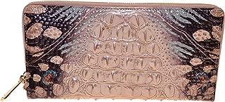 Skyler Croco Travel Clutch Wristlet Gem Lacewing