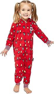 Jammin Jammies Family Holiday Merry Litmas Matching Pajamas - Toddlers Onesie Size 4T
