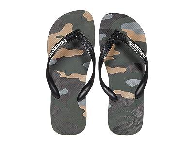 Havaianas Top Camo Sandal (Green Olive) Men