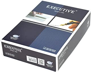 FIS Executive Laid Bond Paper, 500 Sheets, 100 gsm, Cream Color, A4 Size - FSPALD100CR