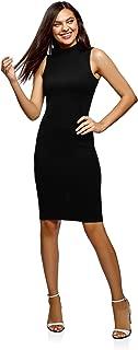 Best black high neck sleeveless bodycon dress Reviews