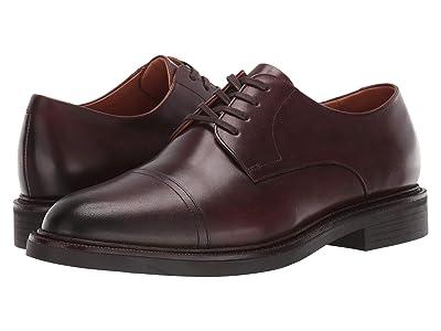 Polo Ralph Lauren Asher Cap Toe (Polo Brown Calf Leather) Men