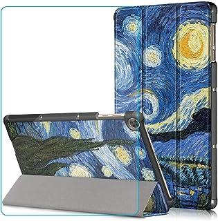 Ash-case Estuche para Huawei MatePad T10s/T10 2020 Tablet, Protector Ultra Delgado Slim PU función de Soporte,Starry Sky+1...