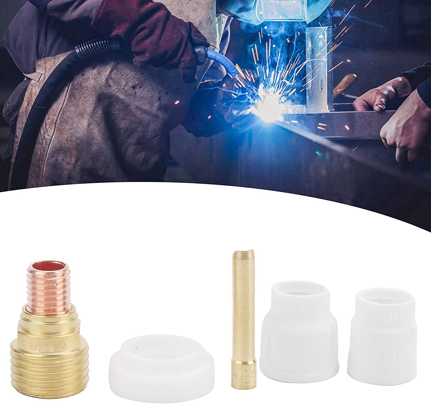 Popular BTIHCEUOT Now on sale Welding Cup Kit Performa Stable Lasting Long