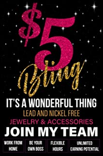 $5 Bling - It's A Wonderful Thing - Lead and Nickel Free - Jewelry & Accessories - Join My Team: Work From Home - Be Your Own Boss - Flexible Hours - Unlimited Earning Potential