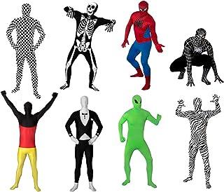 Funsuits Original FUNSUIT - Disfraz de Segunda Piel (Pegado al Cuerpo) Smoking Esmoquin Carnaval Halloween - Talla S / M / L / XL / XXL [M] - Varios diseños