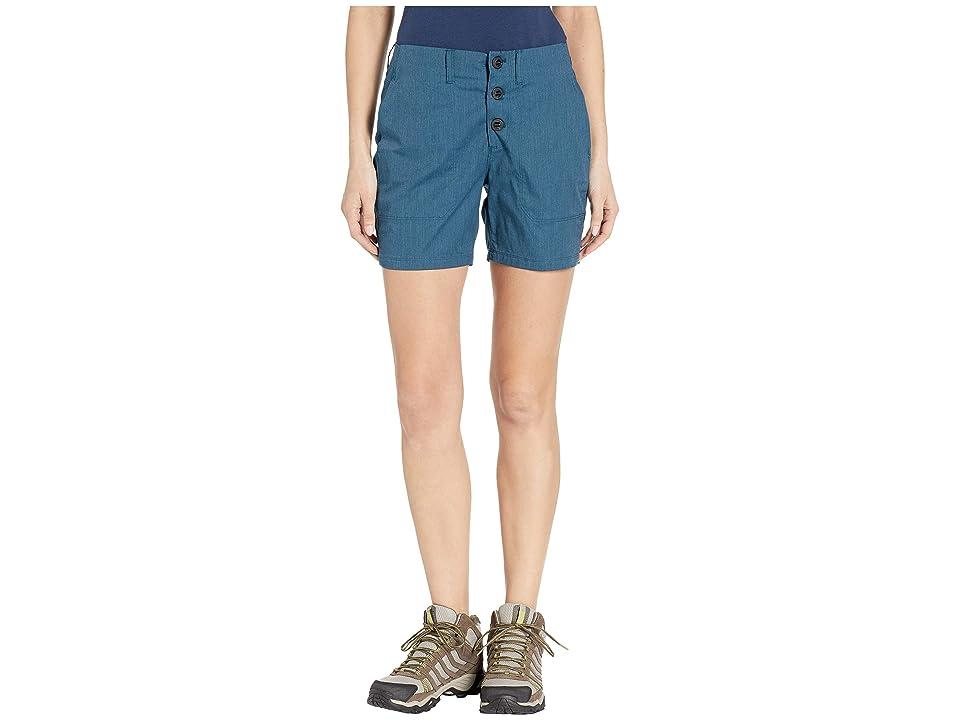NAU Stretch Motil Shorts (Lagoon Heather) Women