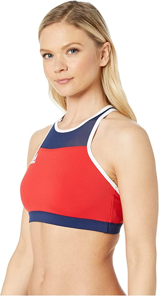 Team Collegiate Red/Team Navy Blue/White