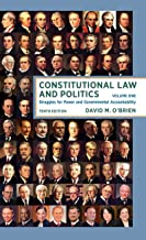 constitutional law and politics volume 2 10th edition