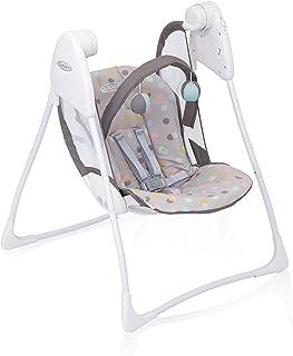 GRACO, Baby Delight elektrische Babyschaukel ab Geburt bis 9 kg ca. 9 Monate Babywippe..
