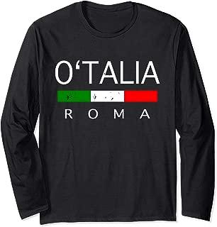 O talia St Patrick Roma Italian Irish Descendant Long Sleeve T-Shirt