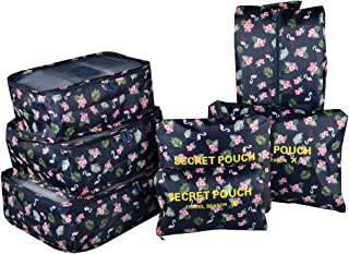 Organizador para Maleta/Equipaje, TOYESS 7 Set de Organizadores de Viajes, 3 Packing Cubes + 3 Compresion Bolsas + 1 Saco ...