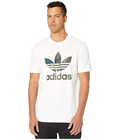 adidas Originals Camo Infill Tee (White/Multicolor) Men