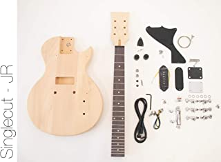 The FretWire DIY Electric Guitar Kit Singlecut JR P90 Build Your Own Guitar Kit
