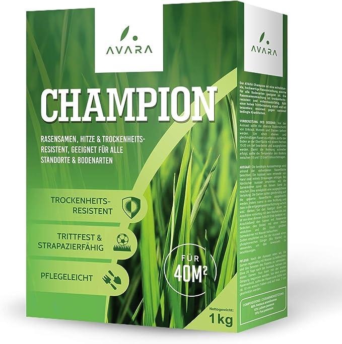 243 opinioni per AVARA Champion 1kg Semi prato premium- semi erba prato resistenti alla siccità-