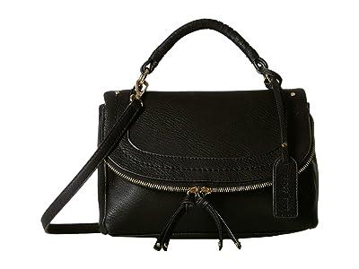 SOLE / SOCIETY Rubie Crossbody (Black) Cross Body Handbags
