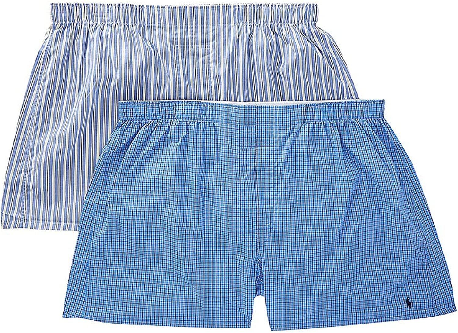 Classic Big & Tall Cotton Woven Boxers 2-Pack