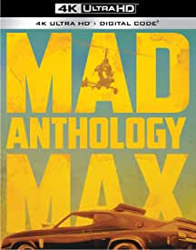 The Mad Max Anthology arrives on 4K Ultra HD and Digital HD November 16 from Warner Bros.