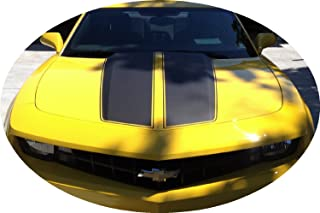 SF Camaro Rally Racing Stripes Matte Black Decal Vinyl Fits 2010 2011 2012 2013 2014 2015 10 11 12 13 14 15