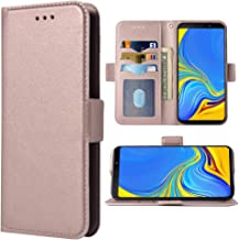 Galaxy A7 2018 Case Samsung Galaxy A7 2018 A750 Cover Shockproof White Tiger PU Leather Flip Notebook Wallet Case Magnetic Stand Card Slot Folio Bumper Case for Samsung Galaxy A7 2018,TX White Tiger