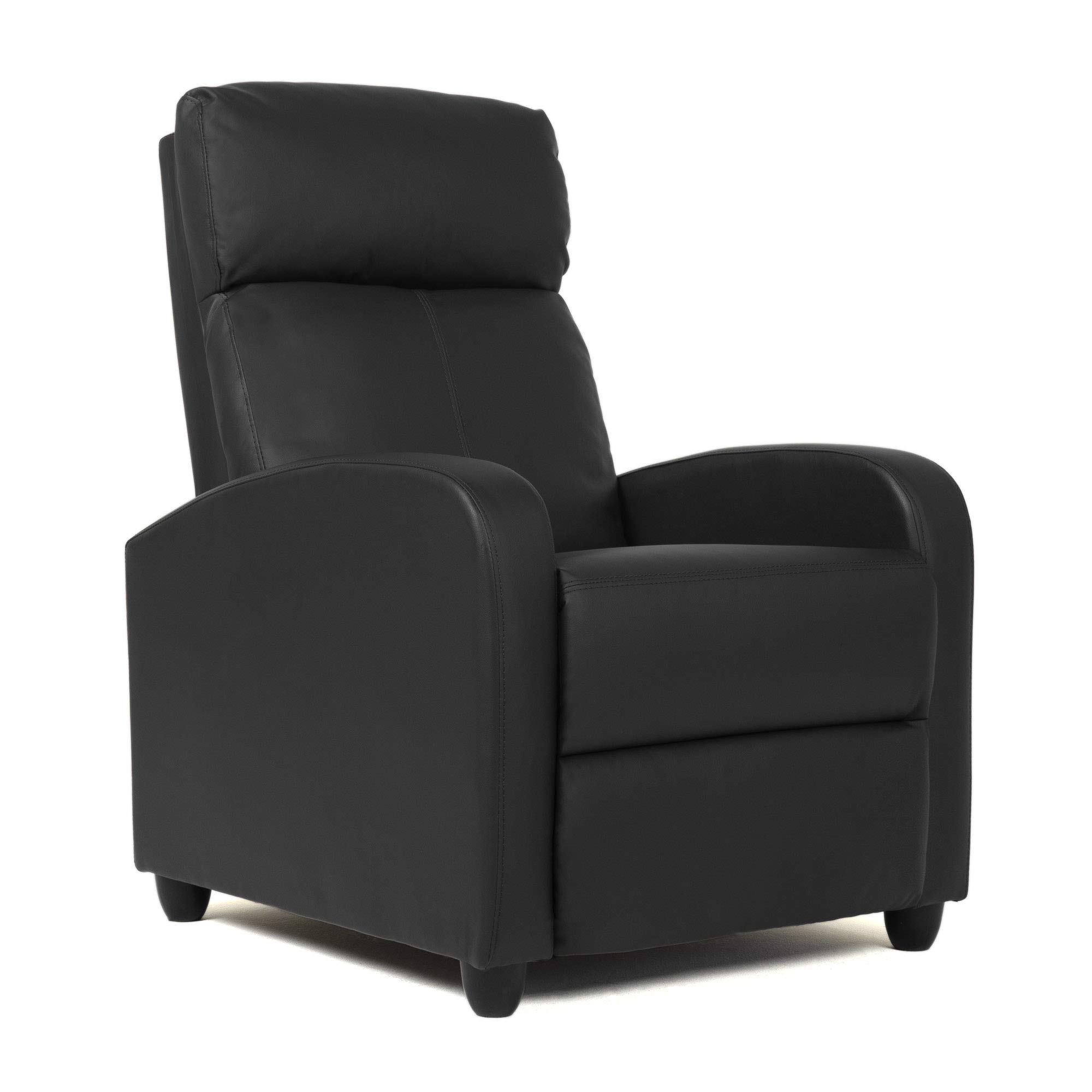 BestMassage Wingback Recliner Chair Leather