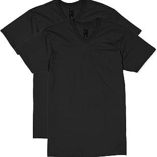 Men's Nano Premium Cotton V-Neck T-Shirt (Pack of 2)