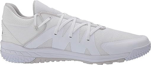 Footwear White/Silver Metallic/Grey One