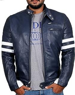 Laverapelle Men's Genuine Lambskin Leather Jacket (Black, Biker Jacket) - 1501535