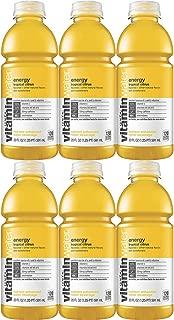 Vitamin Water Energy - Tropical Citrus, 20 Fl Oz Bottle (Pack of 6, Total of 120 Fl Oz)