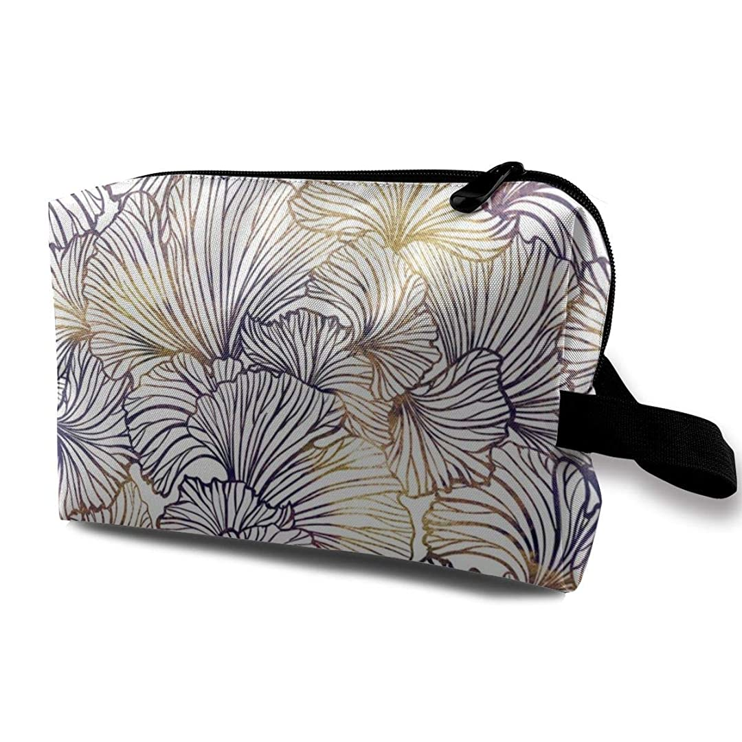 エンコミウムロール芽葉 化粧品袋 トラベルコスメティックバッグ 防水 大容量 荷物タグ付き 旅行収納ポーチ アレンジケース パッキングオーガナイザー 出張 旅行 衣類収納袋 スーツケース整理 インナーバッグ メッシュポーチ 収納ポーチ