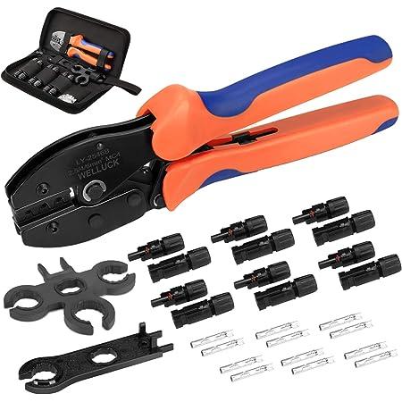 spanner Solar Crimping Tools kit wire crimper 10 Pairs connectors