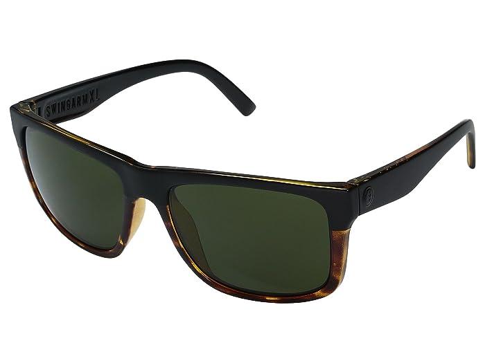 Electric Eyewear Swingarm XL (Darkside Tort/OHM Grey) Athletic Performance Sport Sunglasses