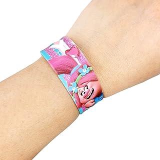 Universal Trolls Printed Kids Silicone Slap Band Bracelet