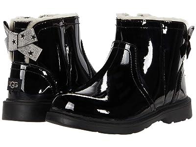 UGG Kids Lynde Patent (Toddler/Little Kid) (Black) Girls Shoes