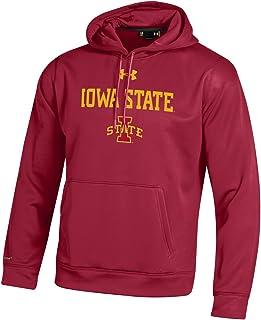 Under Armour NCAA Iowa State Cyclones Men's Fleece Hoodie, Medium, Crimson