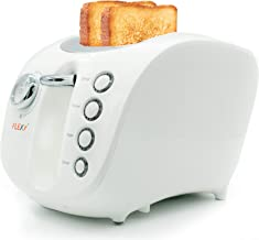محمصة الخبز الكهربائية شريحتين من فليكسي , ابيض , F900H