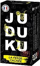 JUDUKU - La Fesse Cachée - Jeux de Société Adulte pour Apéro & Soirées - Jeu de Cartes - Edition Limitée Noir & Blanc