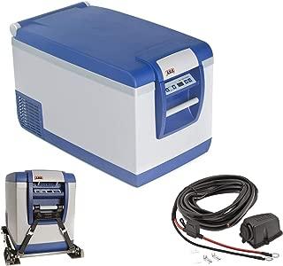 ARB Portable 37 qt Travel Fridge Freezer w/Battery Wiring Kit & Tie Down Straps