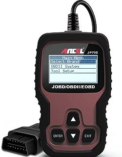 ANCEL JP700 Lector de códigos automotrices JOBD (vehículos japoneses) Escáner OBD2 para automóviles Revisar la Herramienta de exploración de la luz del Motor para Leer y borrar códigos de Falla
