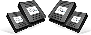 Blackjack Industrial Hard Hat Clips for Headlamps and Lights | Fits all Hard Hats | Holds Lights and Straps Securely in Pl...