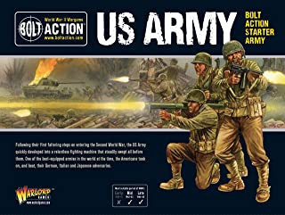 Bolt Action US Army Starter Army 1:56 WWII Military Wargaming Plastic Model Kit