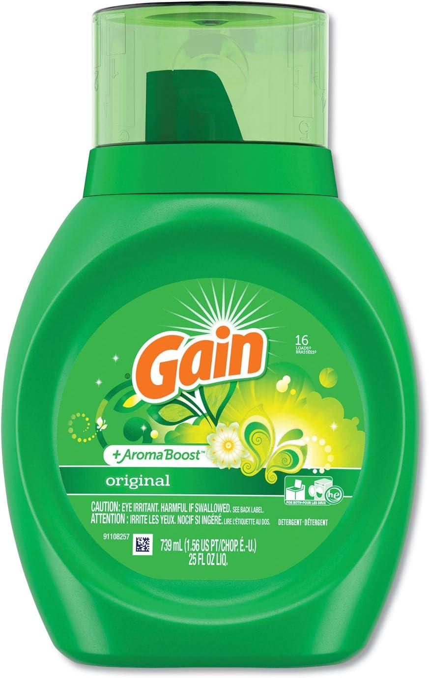 Gain 12783CT Liquid Very New sales popular Laundry Detergent Bottle 25oz Fresh Original