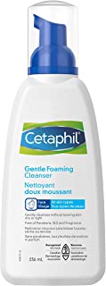 Cetaphil Gentle Foaming Cleanser, For Sensitive Skin, Removes Dirt, Oil and Makeup, Fragrance-Free, Non-Irritating, 236ml
