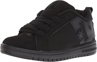 DC Kids' Court Graffik Skate Shoe