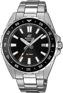 Casio Reloj Analógico para Hombre de Cuarzo con Correa en Acero Inoxidable EFV-130D-1AVUEF