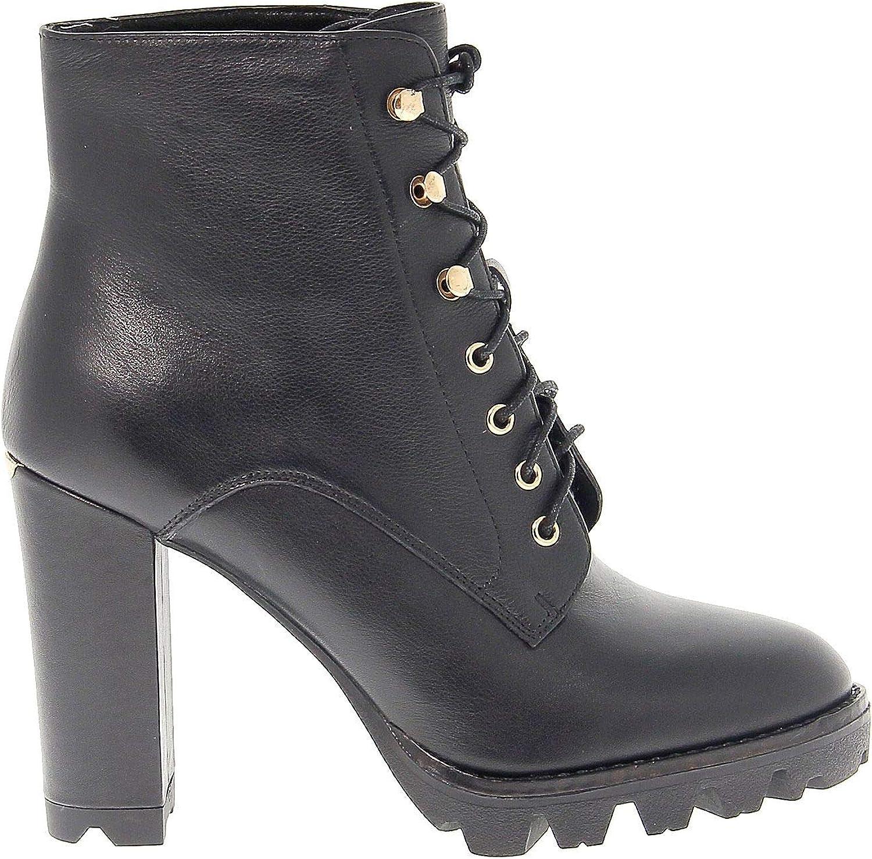 Liu Jo Women's LIUJOS67175 Black Leather Ankle Boots