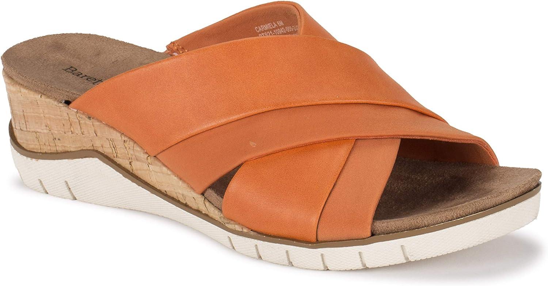 BareTraps Women's Carmiela Sandal Orange いつでも送料無料 直営ストア Size 8.0